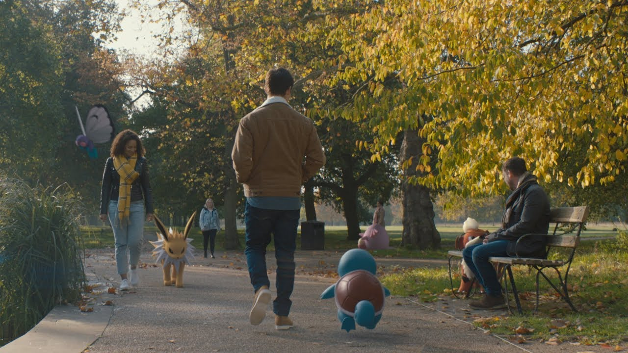Continue your journey together with the new Pokémon GO Buddy Adventure feature!