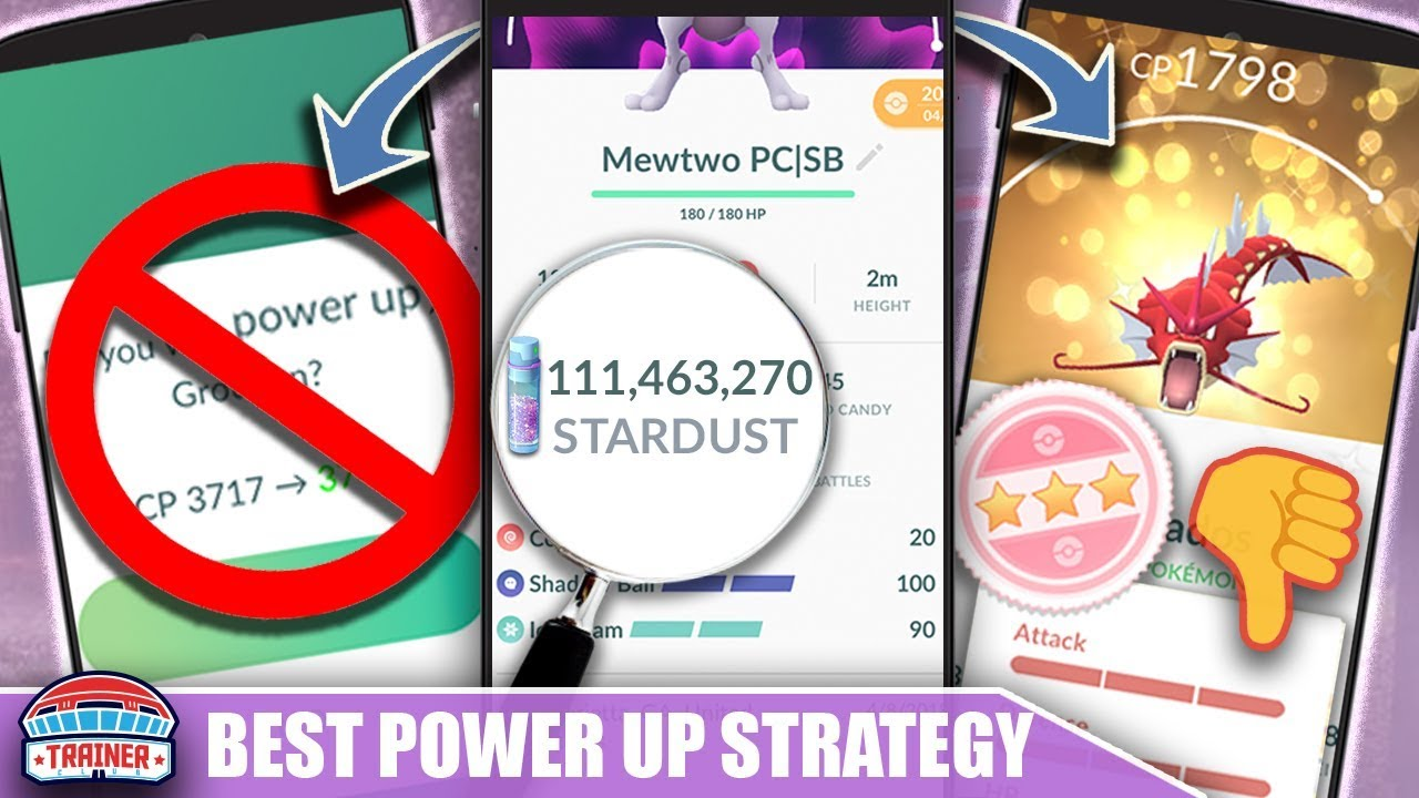 Watch This BEFORE You POWER UP YOUR POKÉMON - BEST STARDUST SAVING STRATEGY   POKEMON GO