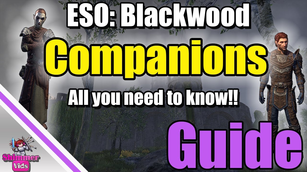 ESO: Companion Guide!  All you need to know!