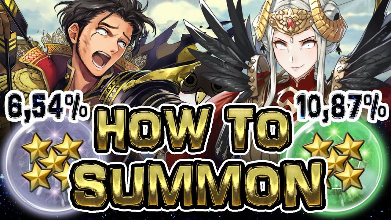 SUMMONING EXPLAINED - how it works? which color has the best odds? Detailed Fire Emblem Hereos guide